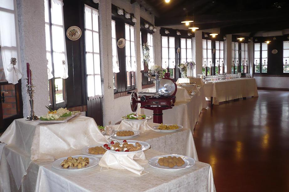 buffet e aperitivo, matrimoni e cerimonie De Firem Rostec
