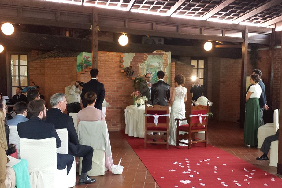 cerimonia civile al Ristorante Dè Firem Rostec