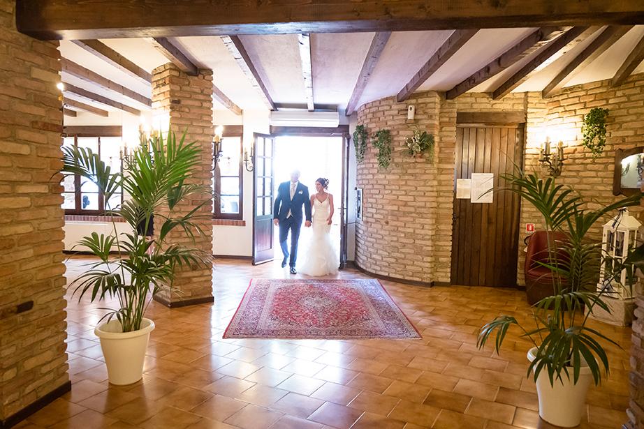 sposi con cerimonia civile al Ristorante Dé Firem Rostec, tra Milano e Bergamo