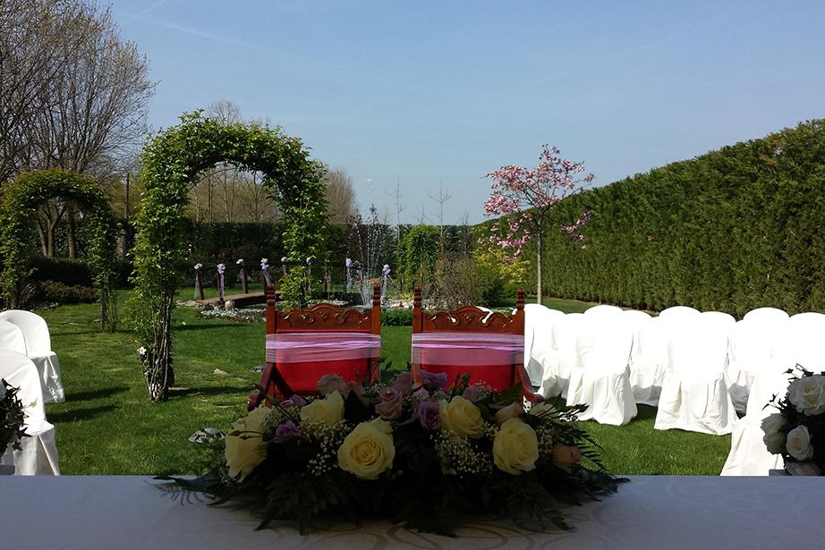 matrimonio nel parco del Ristorante Dè Firem Rostec